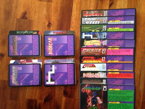 Monopolis Sentinels of the Multiverse Expansion Villains of the Multiverse Base Tabletop, Board and Card Game