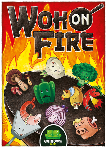Monopolis Wok on Fire Card Game Base Tabletop, Board and Card Game