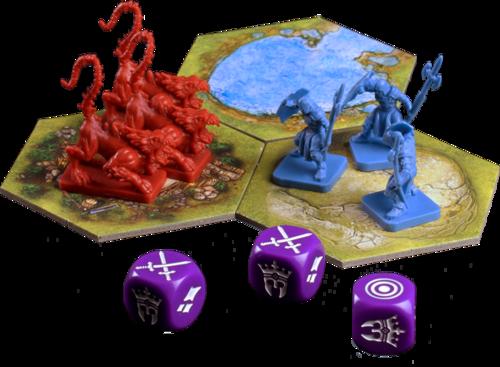 Monopolis Battlelore Base Tabletop, Board and Card Game