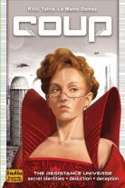 Monopolis Coup Base Tabletop, Board and Card Game