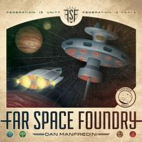 Monopolis Far Space Foundry Base Tabletop, Board and Card Game