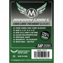 Monopolis Mayday Premium 63.5x88 Card Sleeve Board Game Accessories