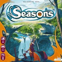 Monopolis Seasons Base Tabletop, Board and Card Game