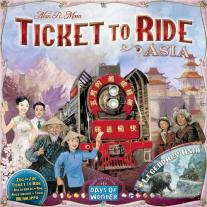 Monopolis Ticket to Ride Team Asia and Legendary Asia Expansion Tabletop, Board and Card Game