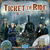Monopolis Ticket to Ride UK and Pennsylvania Expansion Tabletop, Board and Card Game