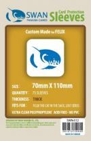 Monopolis Swan Panasia Felix 70x110 Card Sleeve Board Game Accessories
