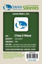 Monopolis Swan Panasia Chimera Zoo 57x90 Card Sleeve Board Game Accessories