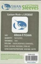 Monopolis Swan Panasia Euro Thin 60x92 Card Sleeve Board Game Accessories