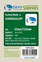 Monopolis Swan Panasia Schweinsgalopp Mini Chimera Thin 43x65 Card Sleeve Board Game Accessories