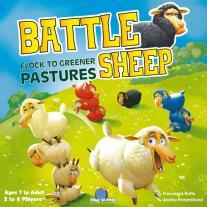 Monopolis Battle Sheep Board Game Base Tabletop, Board and Card Game